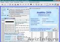 Analitika 2009 - Бесплатное ПО для ведения учета и контроля деятельности фирмы