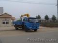 «Азия Трэйд» Бортовой грузовик Dong Feng  с краном-манипулятором 5 т