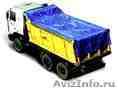 полог тент на самосвал грузовой автомобиль