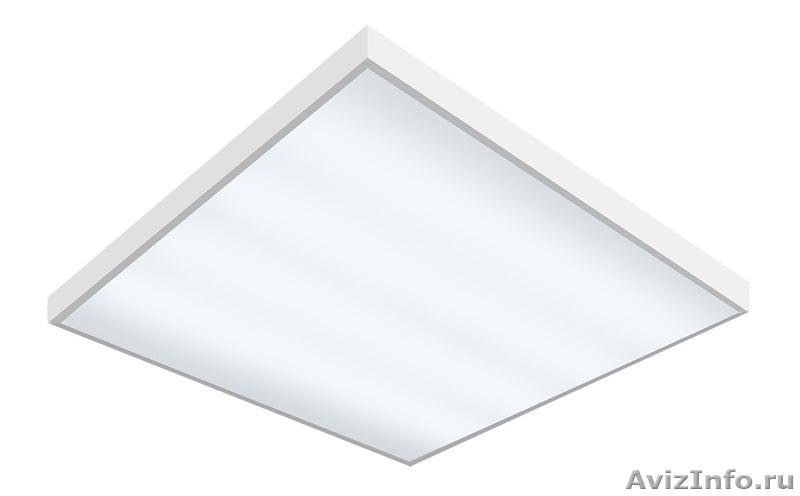 Светильник светодиодный FAROS  FG 595 18LED 0.35А 42w 5000к микропризм, Объявление #1323088